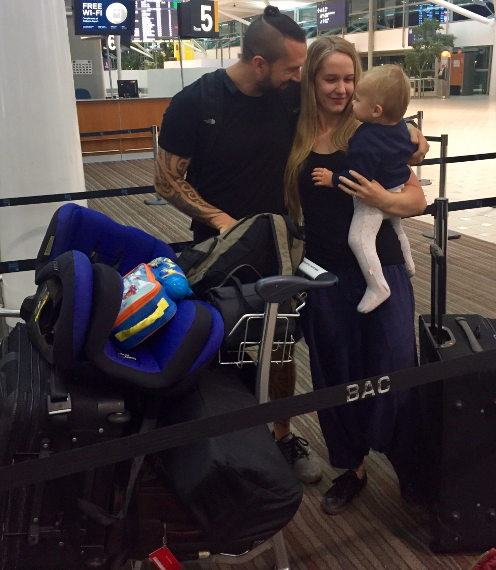 Travelling with a toddler